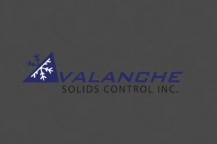 Avalanche Solids Control logo design. In an industry that is muddy, a clean design goes a long way. Concept and design.