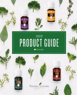 Designed and developed the 2019 Young Living Canada's Product Guide.